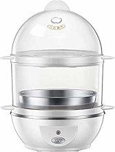 DKee Egg Boiler Egg Boiler, 2 Layer Steamer, Egg