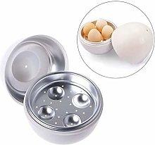 DKee Egg Boiler Egg Steamer Creative Microwave Egg