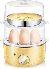 DKee Egg Boilers Egg Steamer Egg Cooker 2-Tier Egg