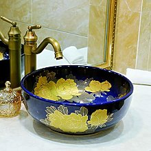 DKee faucet Round Basin/Wash Basin/Cabinet