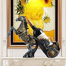 DKee home decorations Creative Home Horse Wine