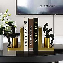 DKee home decorations Nordic Metal Bookends Books
