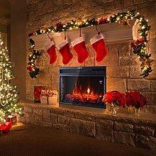DKIEI 28inch Wall Mounted Electric Fireplace,