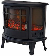 DKIEI Electric Fireplace 1800W with Adjustable