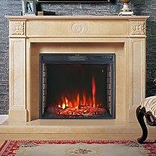 DKIEI Electric Fireplace 24inch Insert Electric