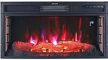 DKIEI Electric Fireplace 28inch Insert Electric