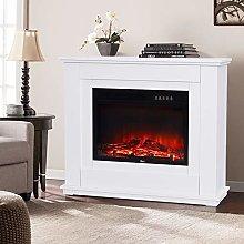 DKIEI Electric Fireplace Suite Electric Fires