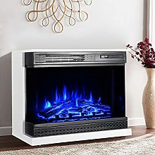 DKIEI Electric Fireplace with Surrounds, 30 Inch