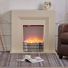 DKIEI Electric Firplace with Surround 2 Heat