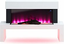 DKIEI Freestanding Electric Fires Electric