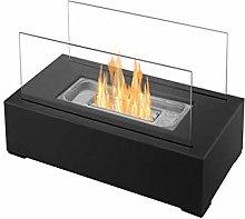 DKIEI Tabletop Fireplace Bio Ethanol Fireplace