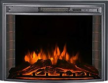 DKIEI Wall Mounted Fire Electric Fireplace Suite