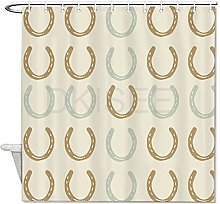 DKISEE Bathroom Shower Curtain