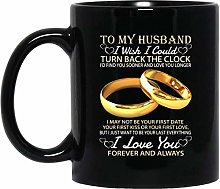 DKISEE Ceramic Mugs to My Husband I Wish I Could