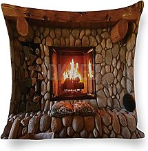 DKISEE Decorative Pillow Covers Cotton Linen Throw