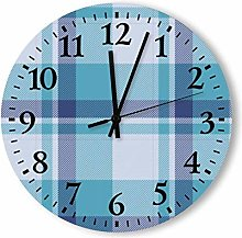 DKISEE Silent Non Ticking Quartz - Tartan Scotland