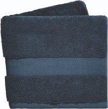 DKNY Lincoln Bath Towel, Navy