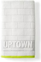DKNY Uptown Bath Towel, White