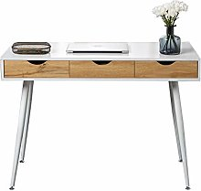 DlandHome 43 Inches Home Desk with 3-Drawers,