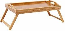DlandHome Bamboo Lap Desk, Foldable Breakfast