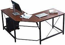 DlandHome Corner Desk L Shaped Computer Desk,