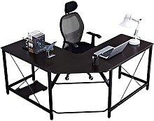 DlandHome Corner Table Desk L Shaped Computer