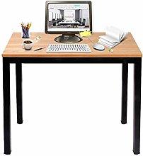 DlandHome Small Desk Computer Desk/Workstation 100