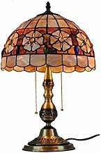 DLC 12-Inch Table Lamp with Copper Base,European