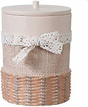 DLC Garbage Cans, Resin Trash Can Wastebasket,with