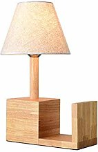 DLC Japanese Style Wooden Table Lamp, Creative