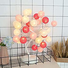 DLC Led Desk Light, Twine Ball Decoration Led