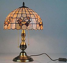 DLC Table Lamp with Copper Base, 12-Inch Magnolia