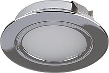 DLFP-CH-WW 12v Small LED Recessed Under Cabinet