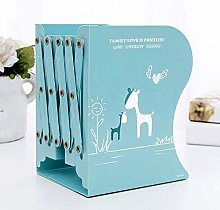 Dljyy Bookend Simple Style Adjustable Book Books