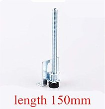 DLRSET Furniture Legs, 4pcs 0-5cm Screw Furniture