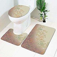 DLSM Breathable Memory Foam Bath Mats Soft