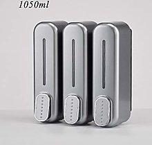DM&FC Wall Mounted Soap Dispenser,Plastic Manual