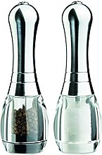 DMD Skittle Salt and Pepper Mill Set with Chrome