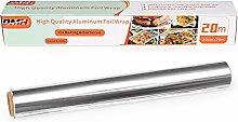 DMH Heavy Duty Aluminum Tin Foil Roll for Kitchen