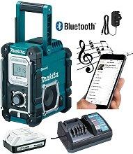 DMR106 Site Radio Blue Bluetooth 7.2 18v Li-Ion +