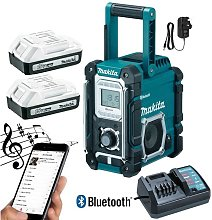 DMR106 Site Radio Blue Bluetooth 7.2 18v Li-Ion 2