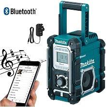 DMR106 Site Radio Blue Bluetooth AM FM 7.2- 18v