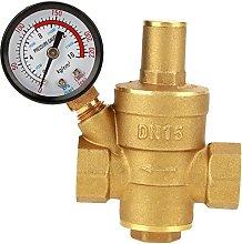 DN15 Brass Adjustable Water Pressure Regulator