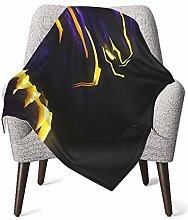 DNBCJJ Comfort Baby Blanket, Black Panther Soft