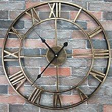 DNGDD Large Outdoor Garden Wall Clock New Big