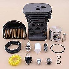 DNKKQ 47mm Cylinder PiFor STon Kit For HUSQVARNAA
