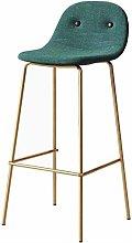 DNSJB Bar Chair Stool Counter Chairs Iron art