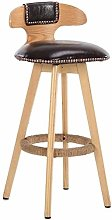DNSJB Bar Furniture Bar Stools Wood Barstool Bar