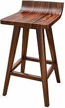 DNSJB Bar Furniture Barstools Solid Wood Bar Stool