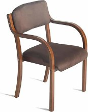 DNSJB Bar Furniture Barstools Wooden Armchair with